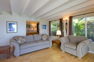 Paia Beach House Living Area