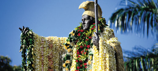 photo of king kamehameha