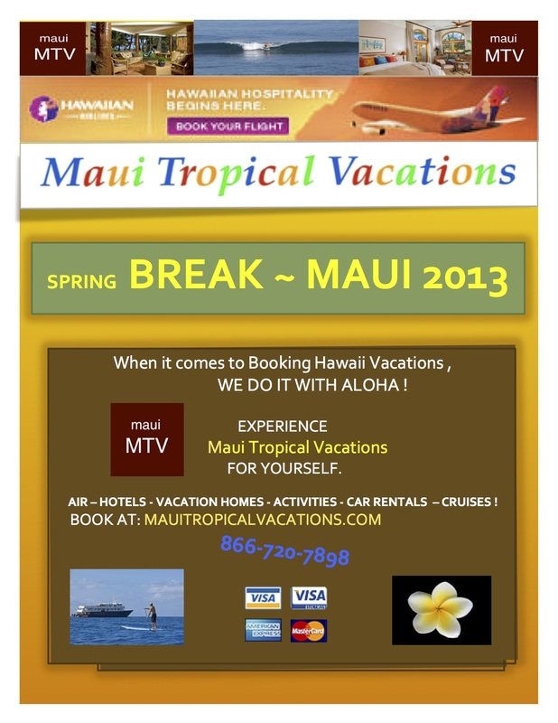 Maui Tropical Vacations