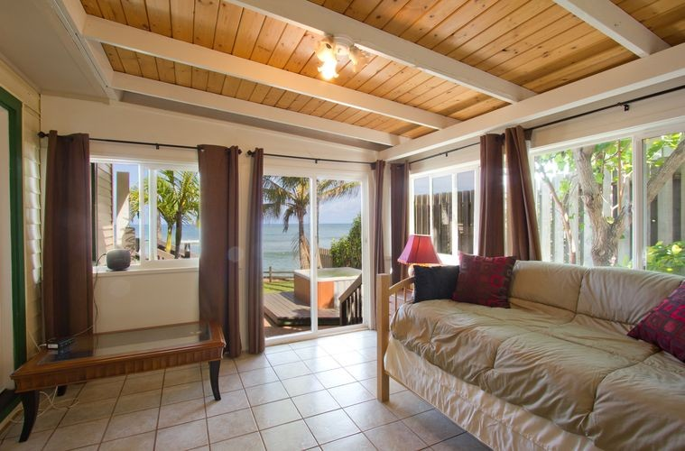 Paia Paradise Beach House  Maui Hawaii Oceanfront Vacation Rental on home office area design, sitting for a bedroom design, home master bedroom design, home bar counter design, home front entrance design,