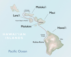 maui tropical vacations uncruise itinerary map