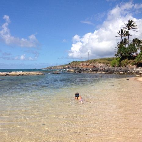 Mama's Beach, Kuau Maui