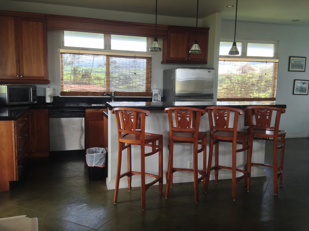 Hale Makai Maui Beach house Kitchen